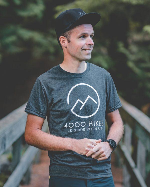 T-Shirt 4000 Hikes Unisexe