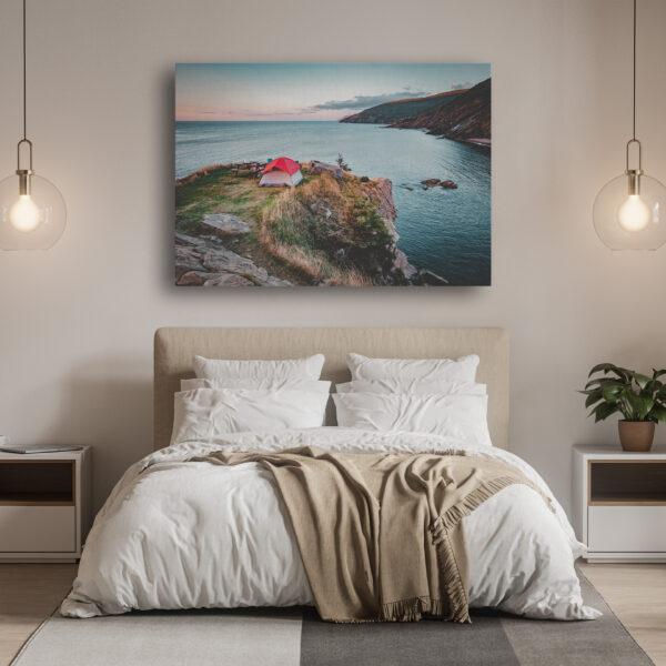 Mockup Chambre La suite nuptiale du Cap Breton