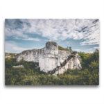 Template Toile Un bloc de roche atypique sur la Côte-Nord